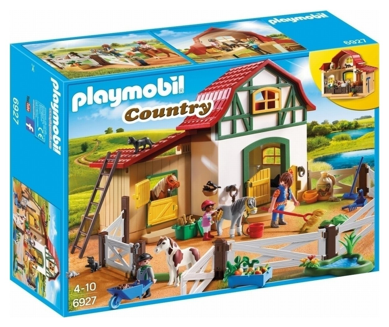 Playmobil 6927 Country Pony Farm