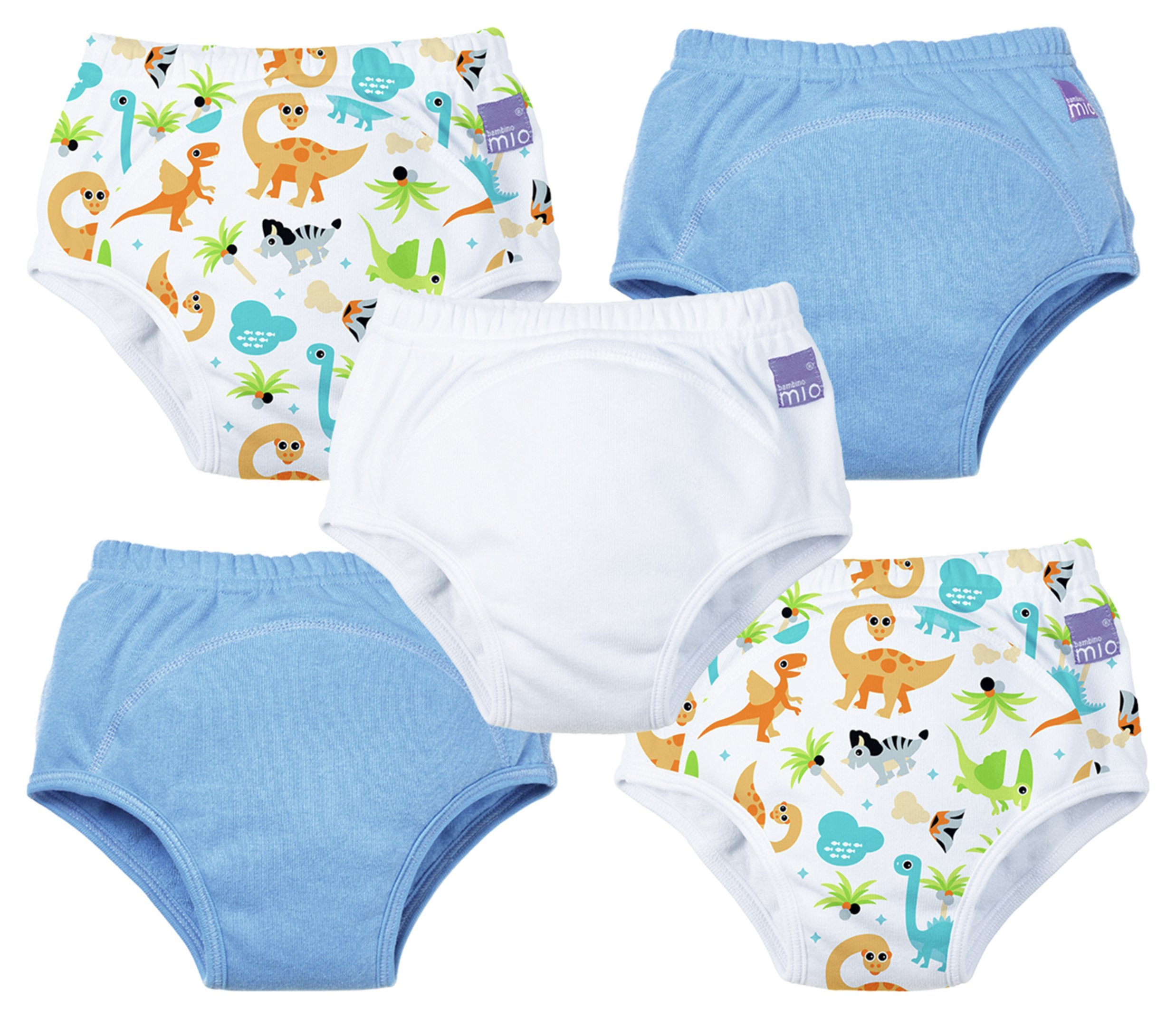 Image of Bambino Mio Dino Potty Training Pants 2-3 Years - 5 Pack