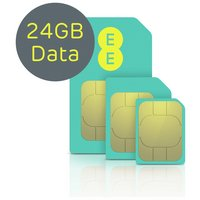 EE 4G 24GB Pay As You Go Mobile Broadband Sim Card.
