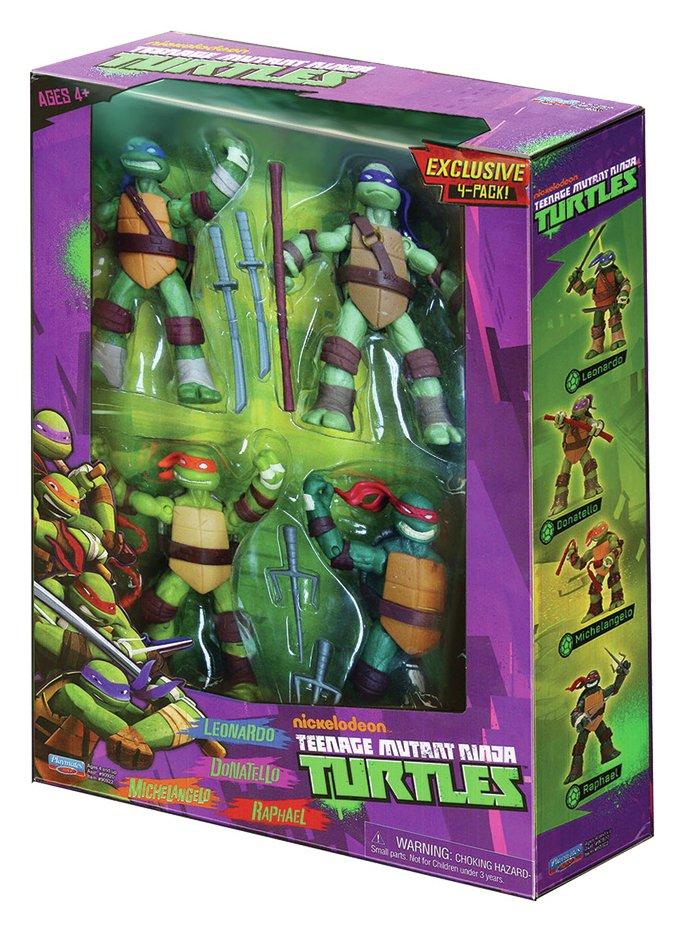 Teenage Mutant Ninja Turtles Action Figures - 4 Pack