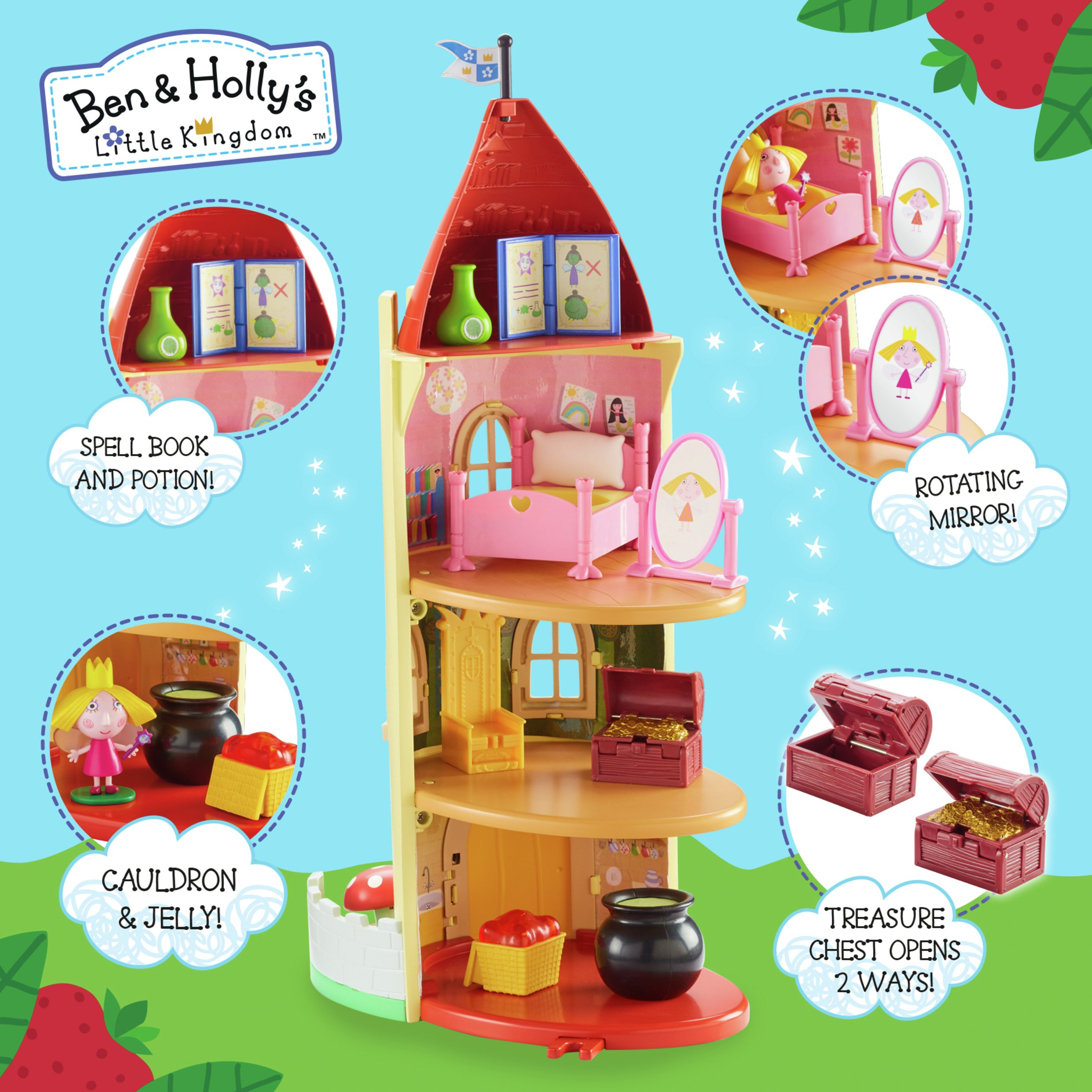 Image of Ben & Holly's Little Kingdom Thistle Castle Playset
