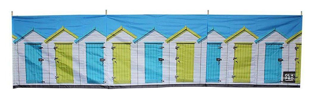 Carpentero Beach Huts Camping: Olpro Beach Huts 4 Steel Pole Windbreak (7246094)