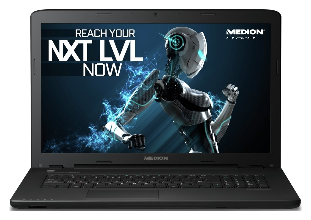 Medion Erazer 17.3 In i5 8GB 256GB 1TB GTX950M Gaming Laptop