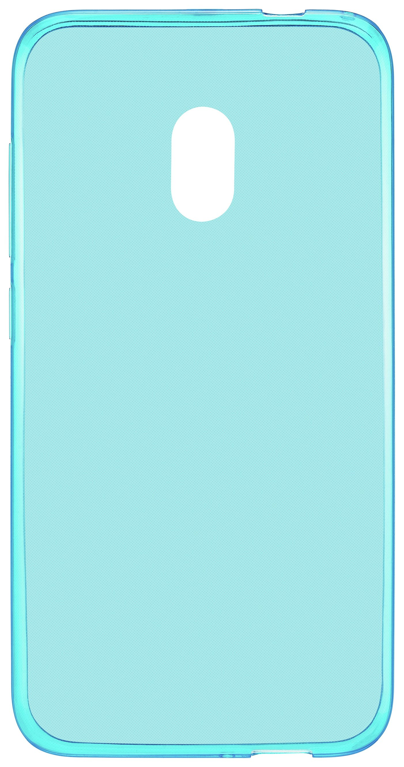 Image of Alcatel U5 4G Gel Mobile Phone Case - Blue.