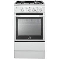 Indesit I5GGW Single Gas Cooker - White