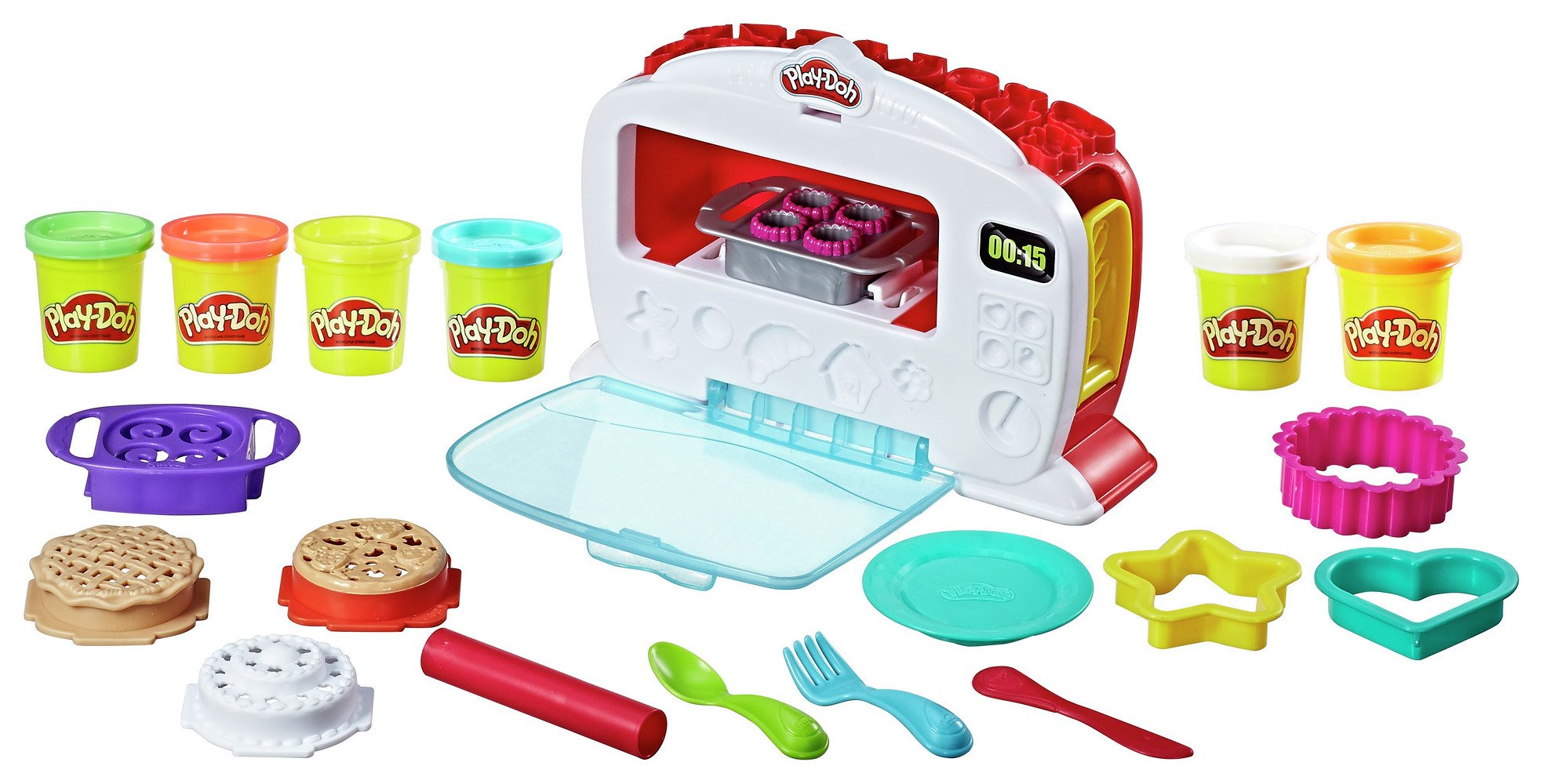 Buy Play Doh Kitchen Creations Magical Oven Dough And Modelling