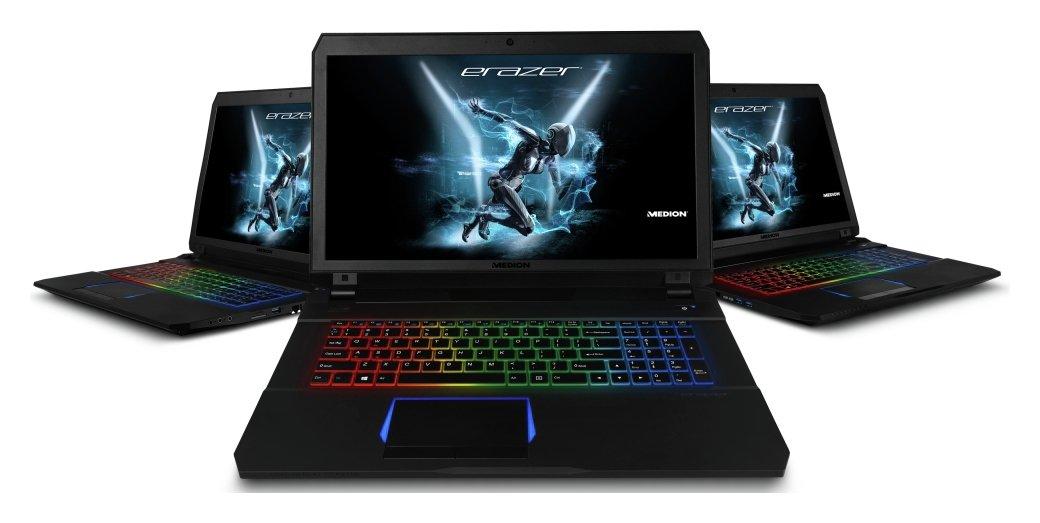 Medion X7851 i7 17.3In 16GB GTX1060 256GB 1TB Gaming Laptop.