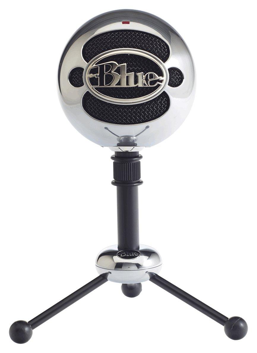 Image of Blue Microphones Snowball USB Microphone - Aluminium.