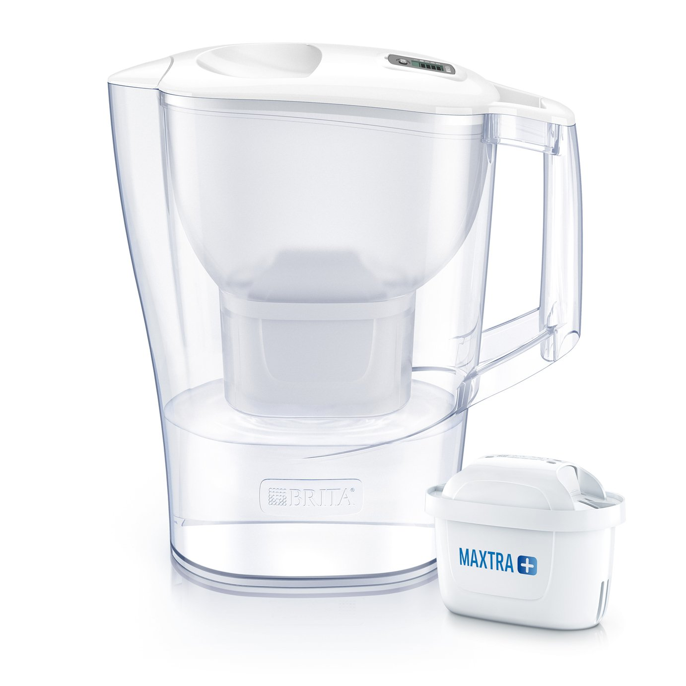 Image of Brita Aluna Water Filter Jug - Cool White