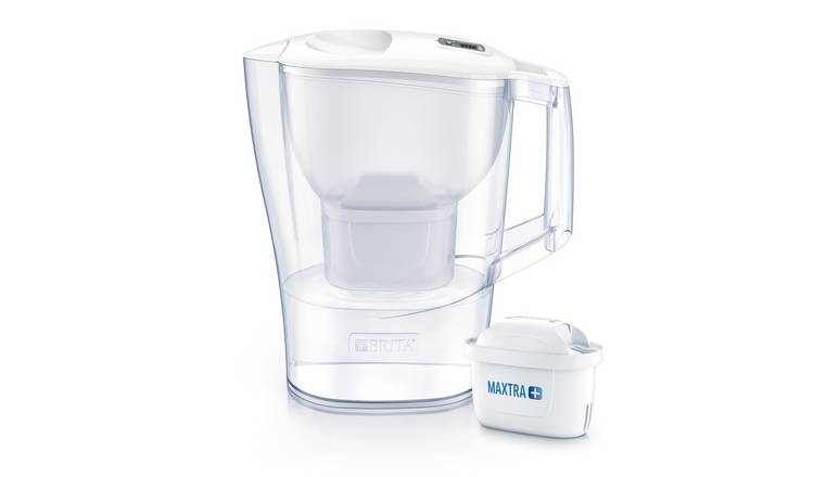 Brita Aluna Water Filter Jug - Cool White