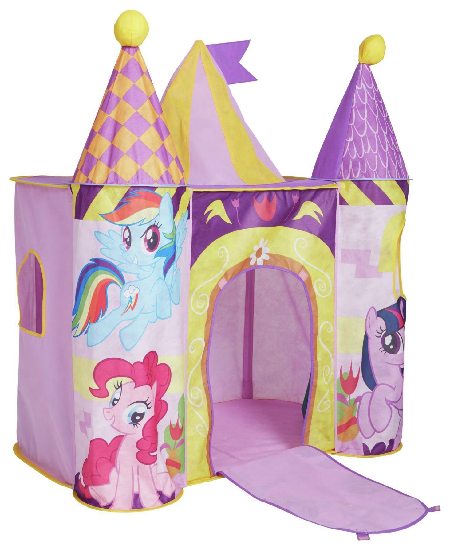 Stats Pop Up Play Castle Tent Grey