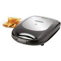 Cookworks 4 Slice Sandwich Toaster - Black