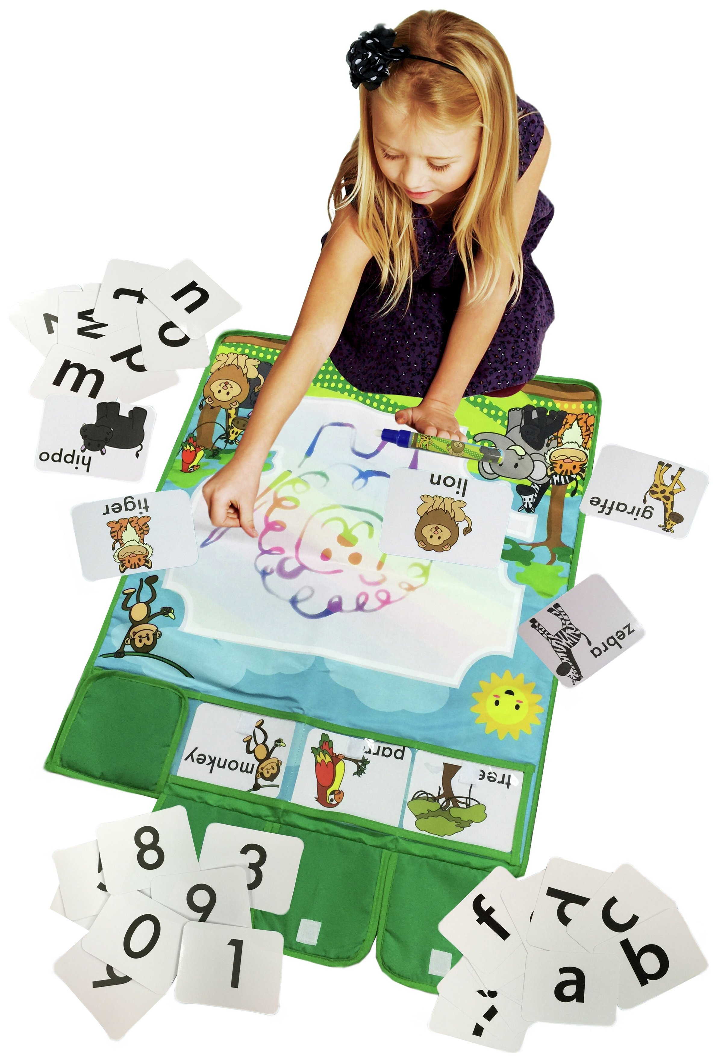 chad valley playsmart aqua mat with flashcards 7248669. Black Bedroom Furniture Sets. Home Design Ideas