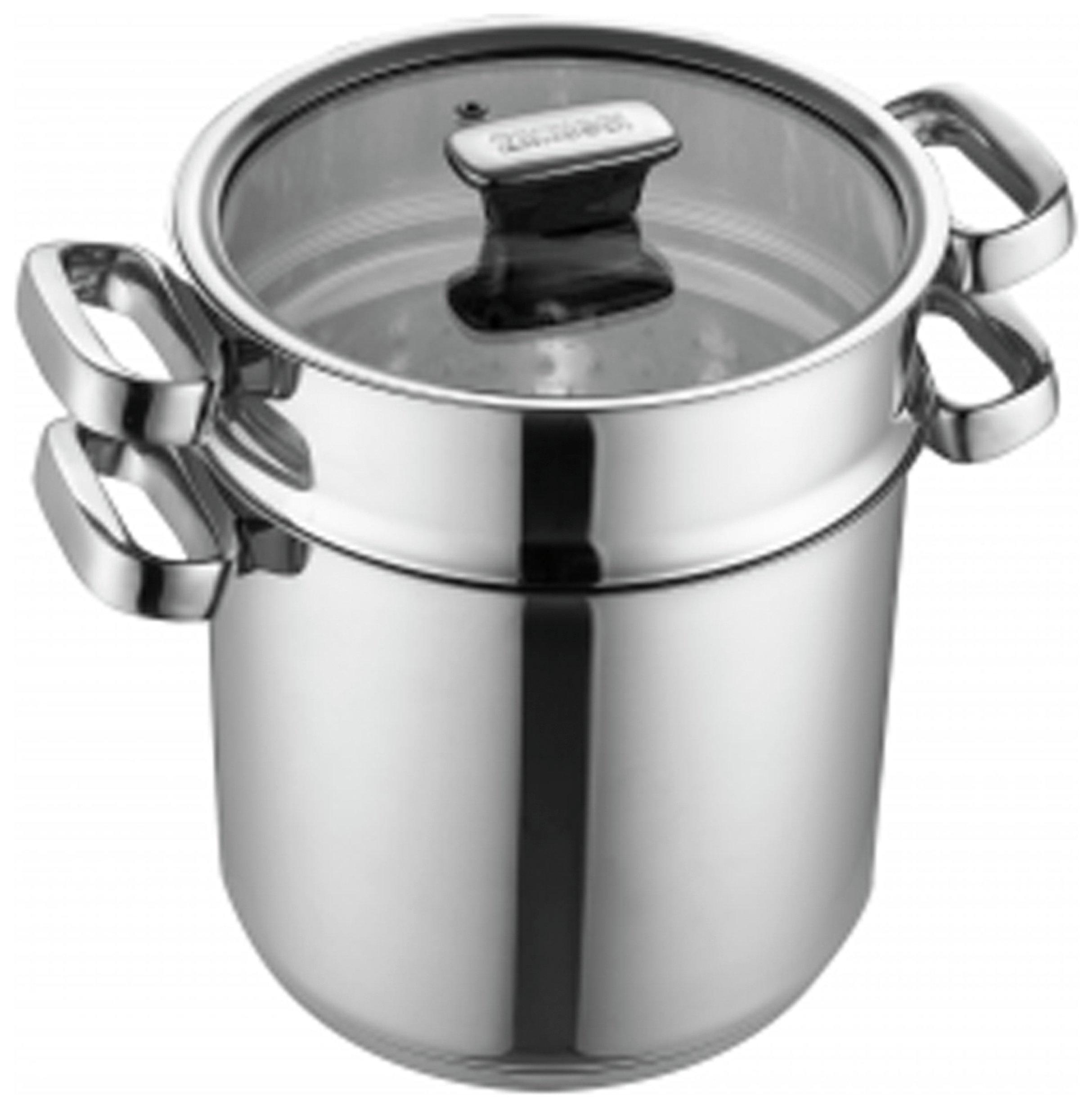 Zanussi Positano 20cm Stainless Steel Pasta Pot with Lid