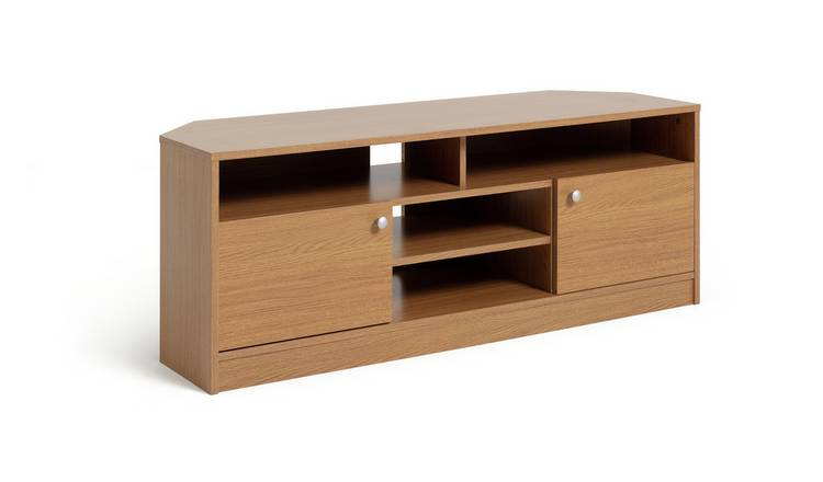 Habitat Corners Large TV Unit - Oak Effect