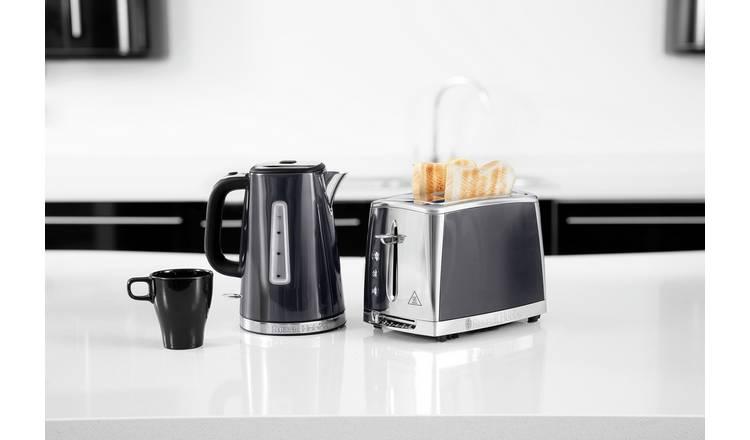 Buy Russell Hobbs 23211 Luna Quiet Boil Jug Kettle Grey | Kettles | Argos