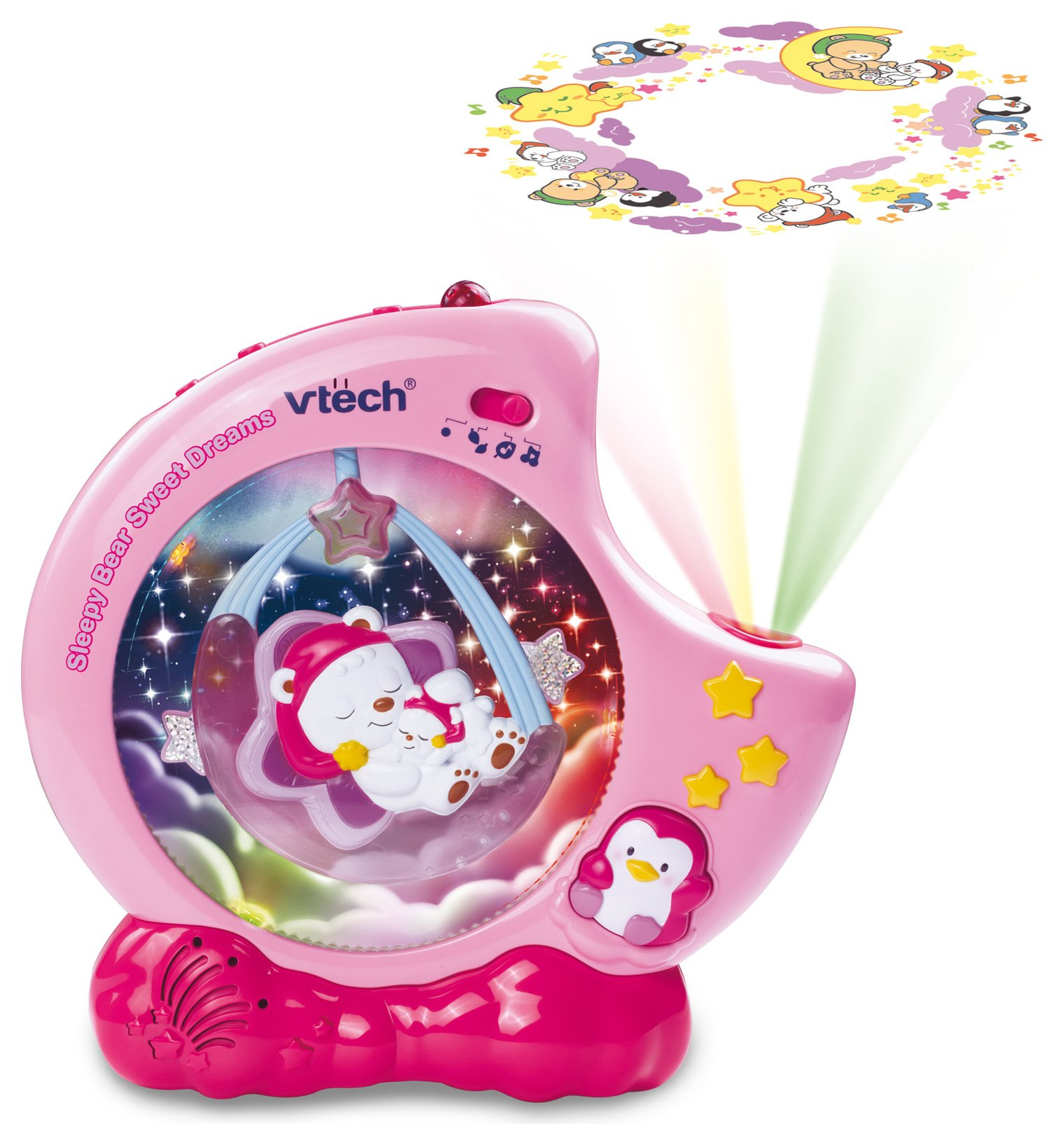 VTech Baby Sleep Bear Sweet Dreams - Pink