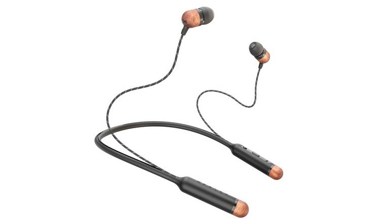 Marley Smile Jamaica In-Ear Wireless Headphones - Black