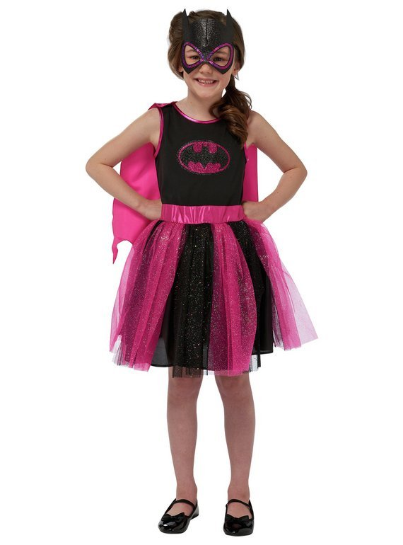 DC Batgirl Children's Fancy Dress Costume - 5-6 Years