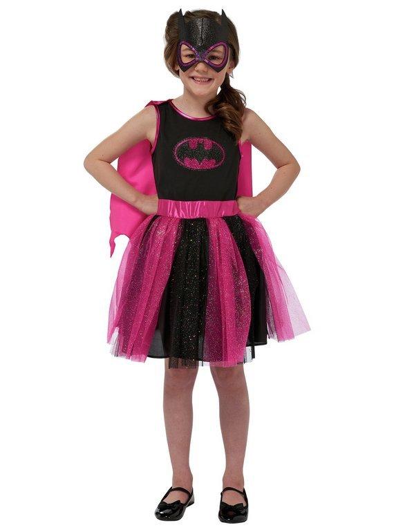 Image of DC Batgirl Children's Fancy Dress Costume - 5-6 Years