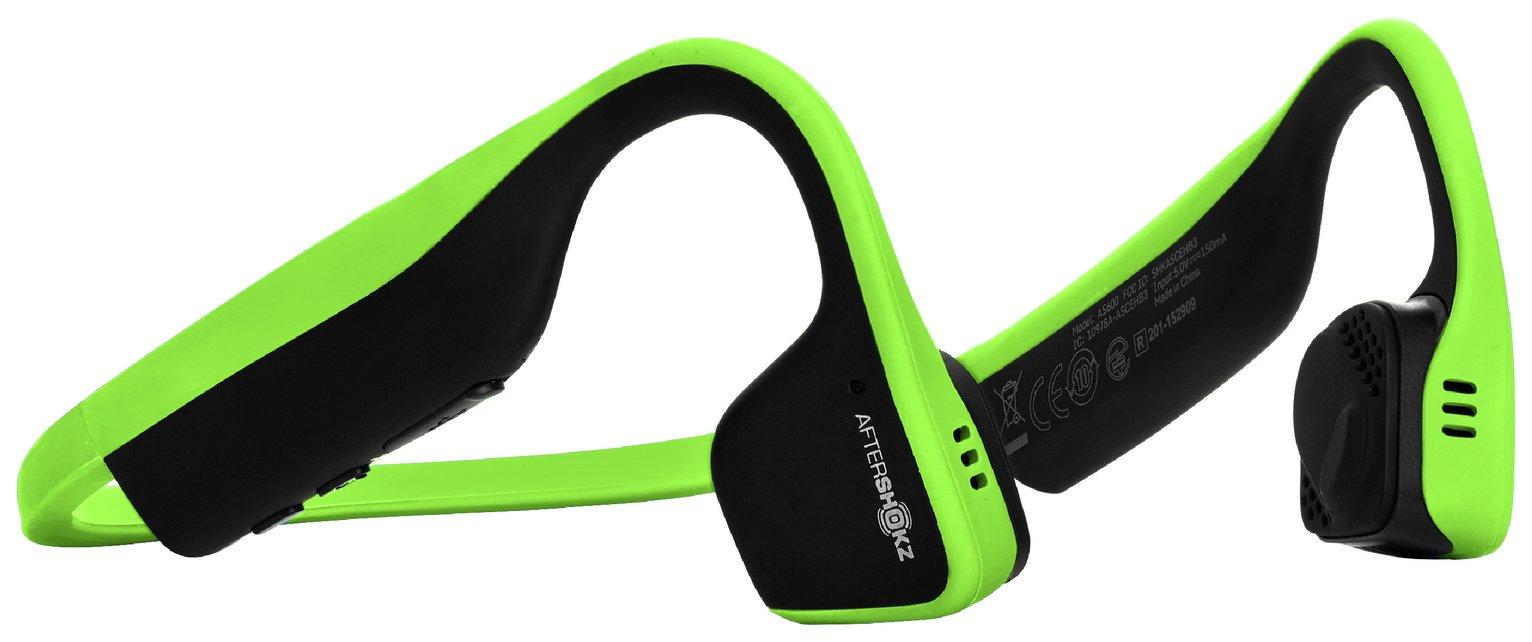 Image of AfterShokz Trekz Titanium Bone Conduction Headphones - Green