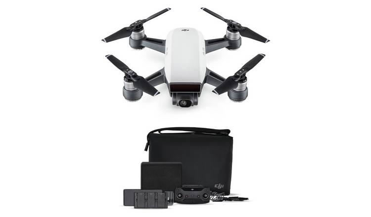 loopschoenen nieuwe afbeeldingen van uitgebreide selectie Buy DJI Spark Drone Fly More Combo - Alpine White | Drones | Argos