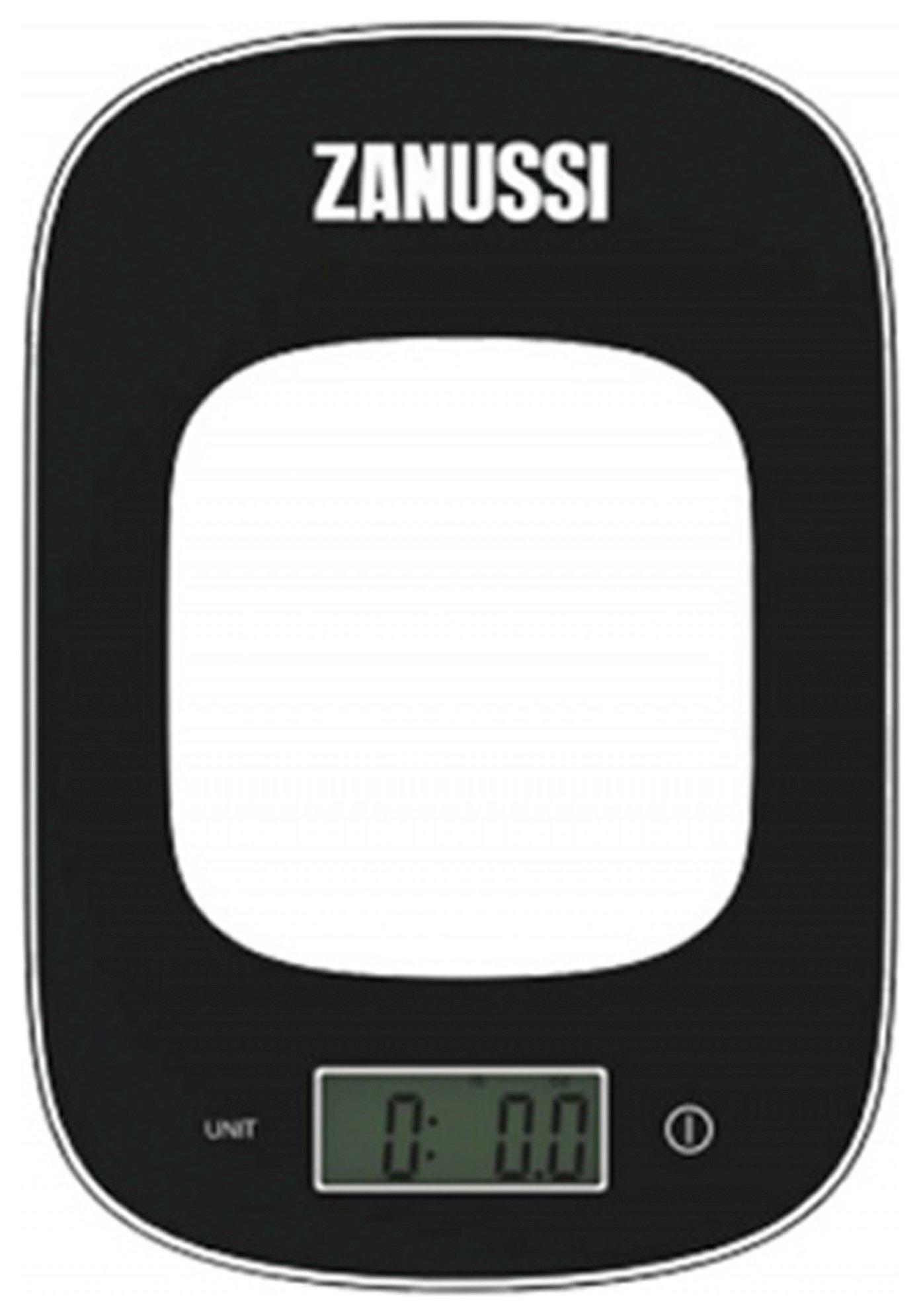 Zanussi Digital Kitchen Scales - Black
