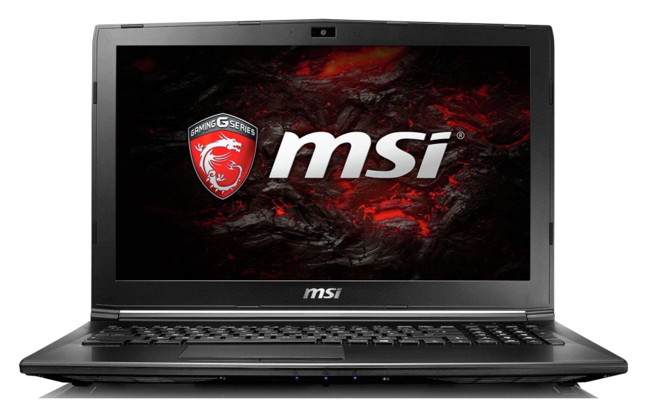 Image of MSI i5 15.6 In 8GB 1TB GTX1050 Gaming Laptop - Black.