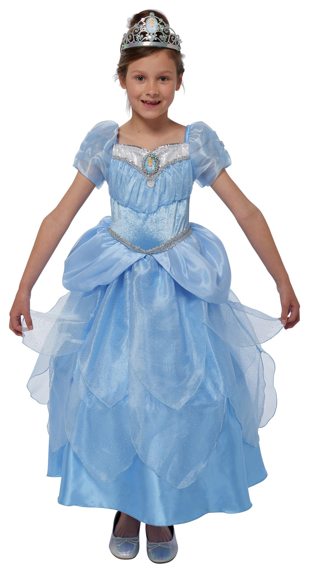 Disney Princess Cinderella Fancy Dress Costume - 5-6 Years
