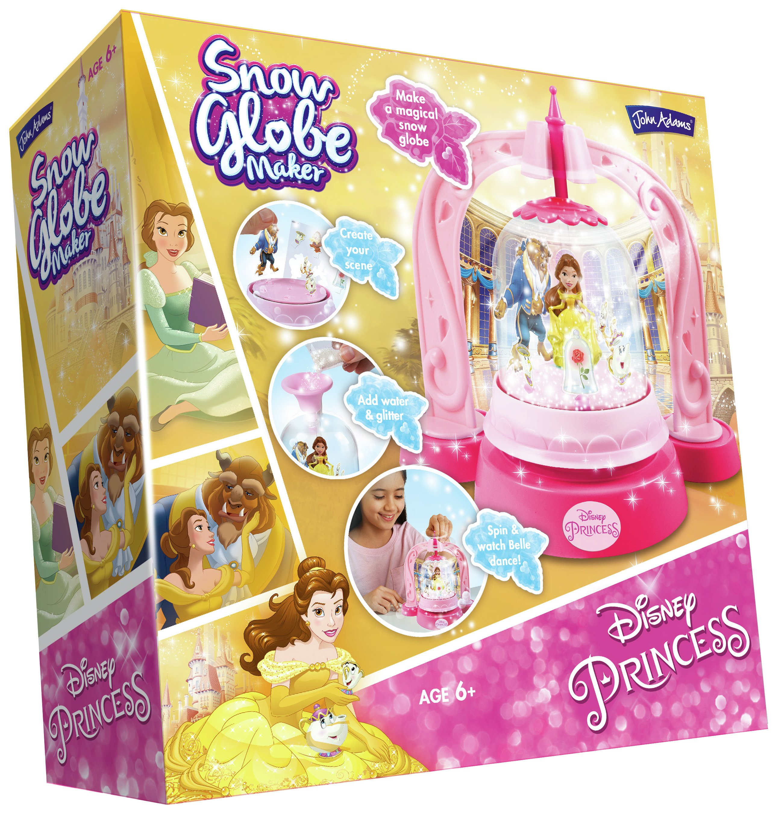 Image of Disney Princess Beauty and the Beast Snow Globe