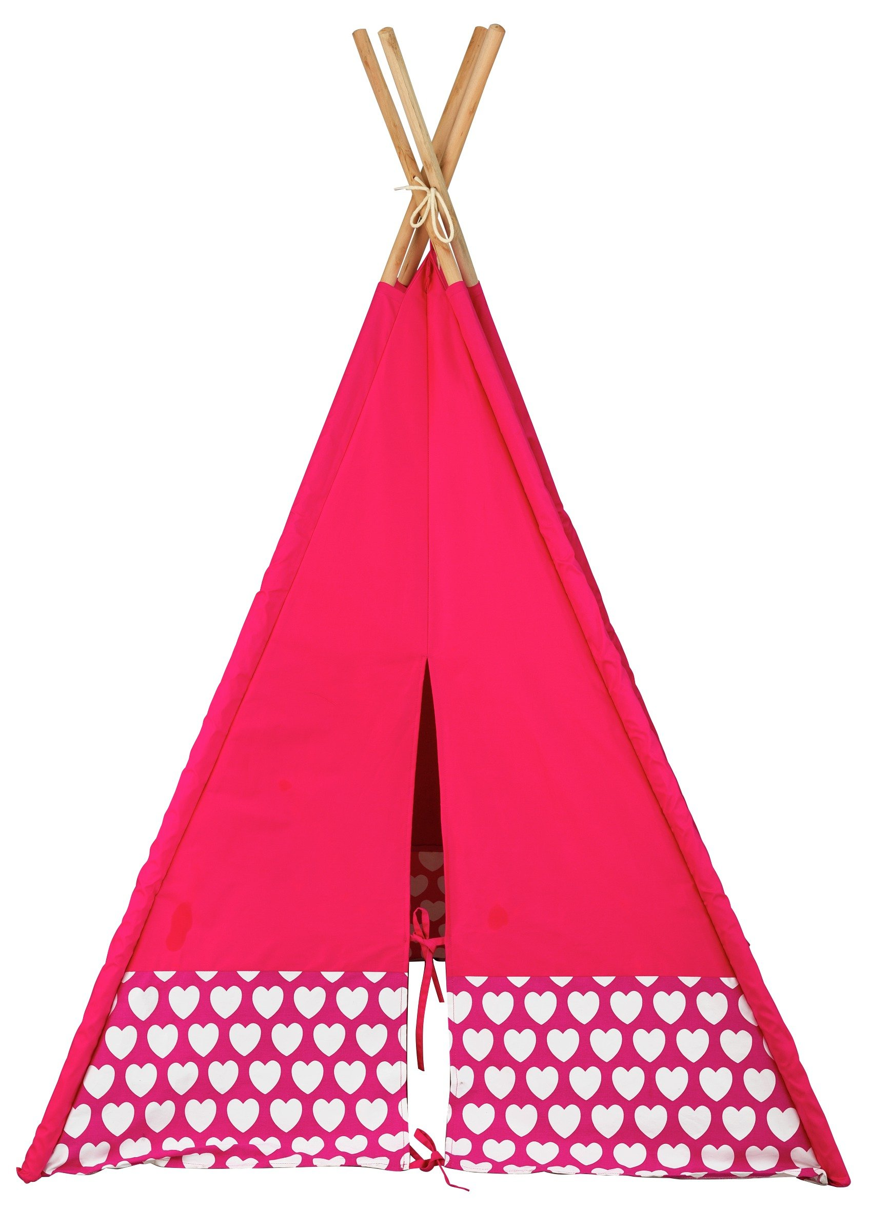 sale on home hearts teepee home by argos now available. Black Bedroom Furniture Sets. Home Design Ideas