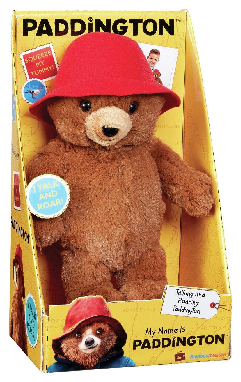 My Name Is Paddington Soft Toy