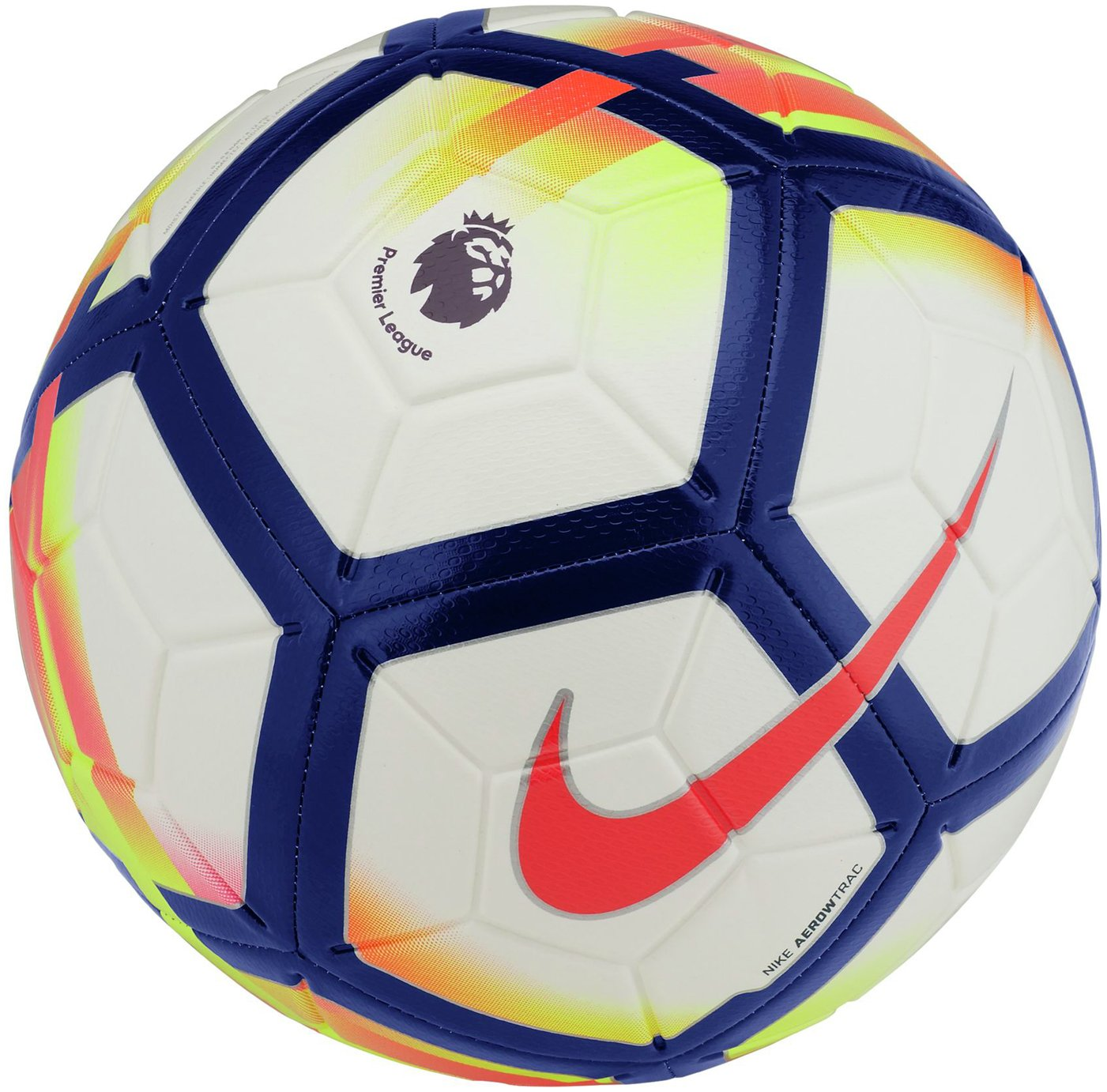 Nike Premier League Strike Football - White & Crimson