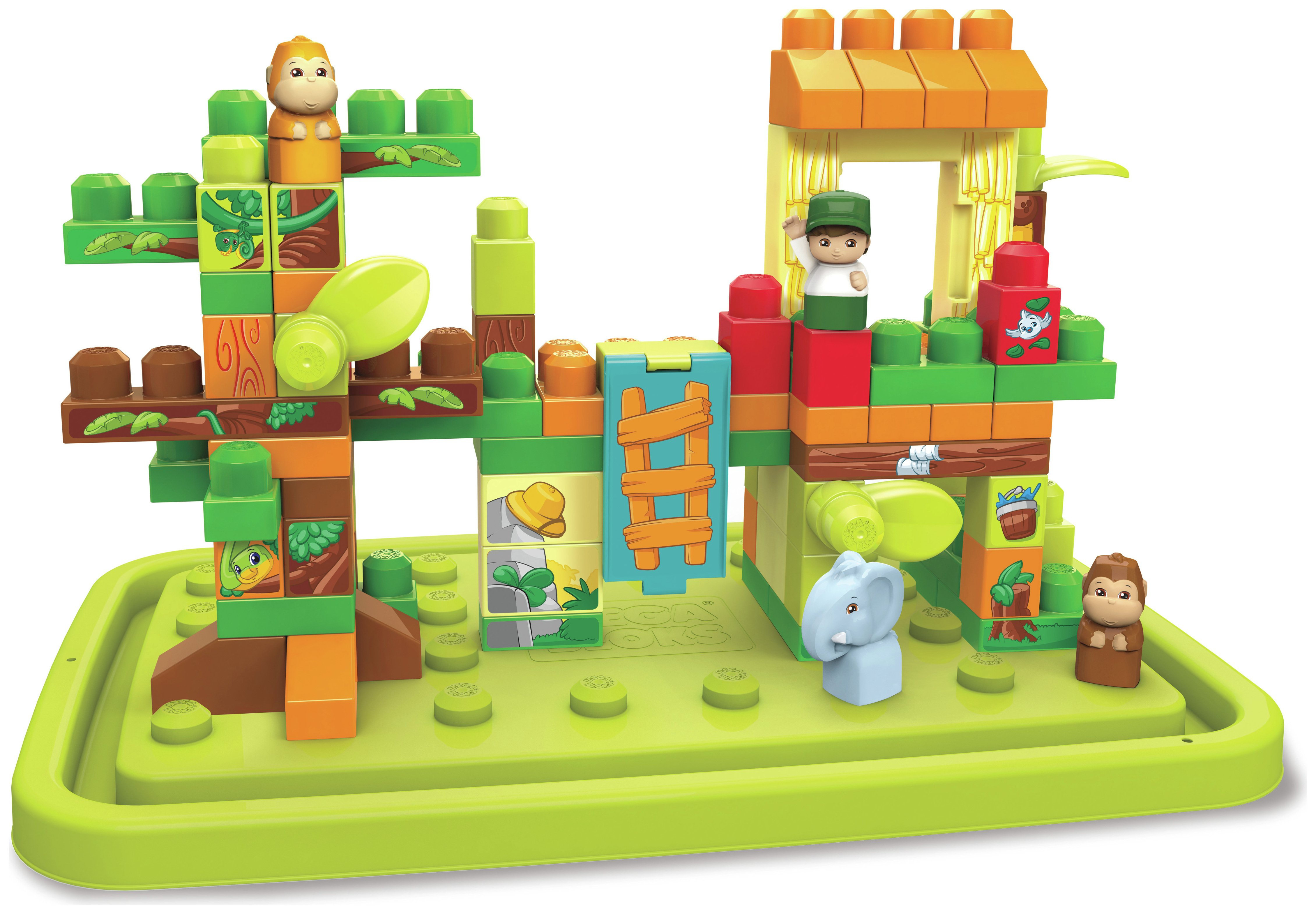 Image of Mega Bloks Jungle Fun Tub