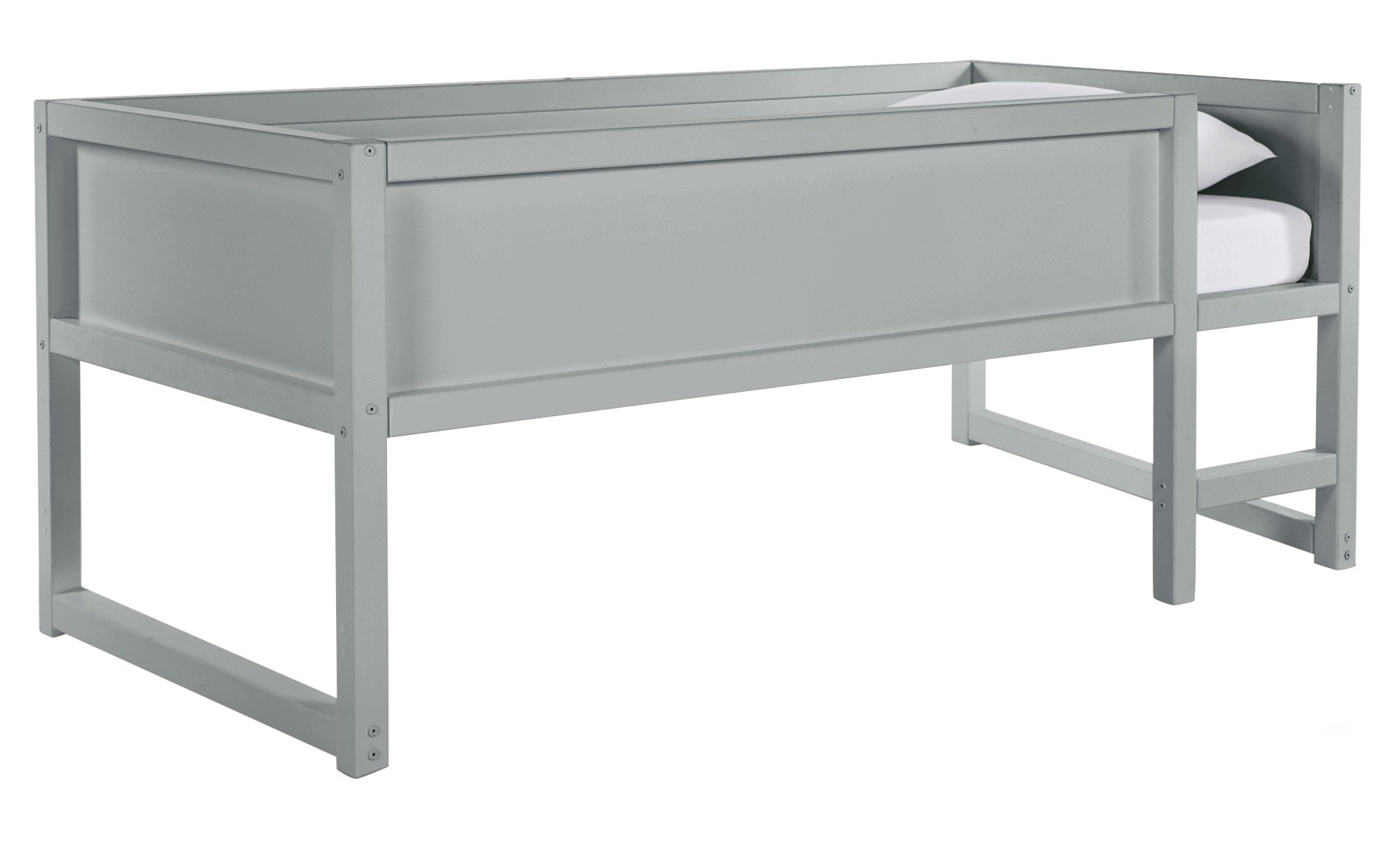 Collection Tokyo Heavy Duty Low Mid Sleeper Bed Frame - Grey