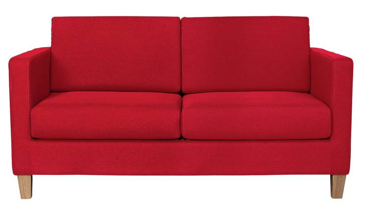 Buy Argos Home Rosie 2 Seater Fabric Sofa Bed - Red | Sofa beds | Argos
