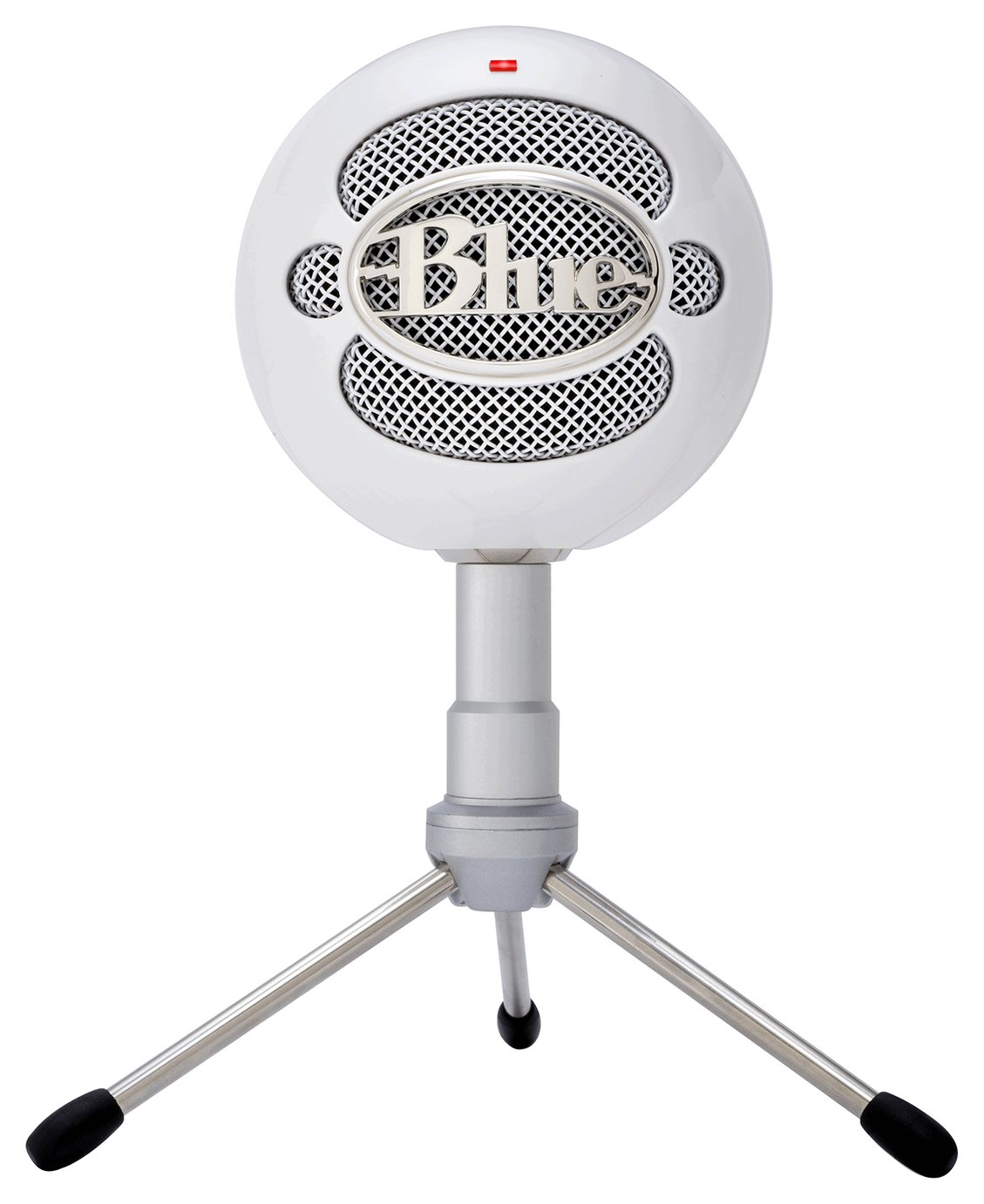 Image of Blue Microphones - Snowball USB Microphone - Ice White