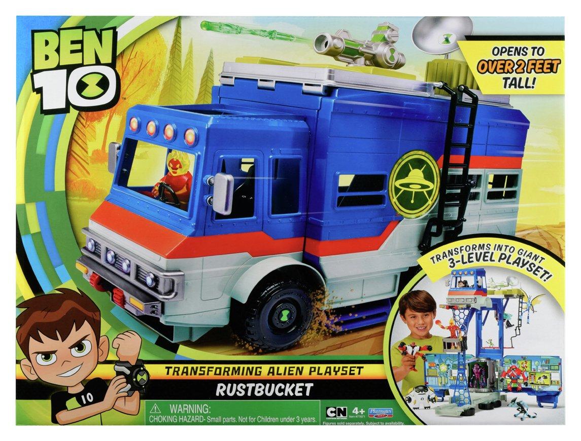 Image of Ben 10 Rust Bucket Playset