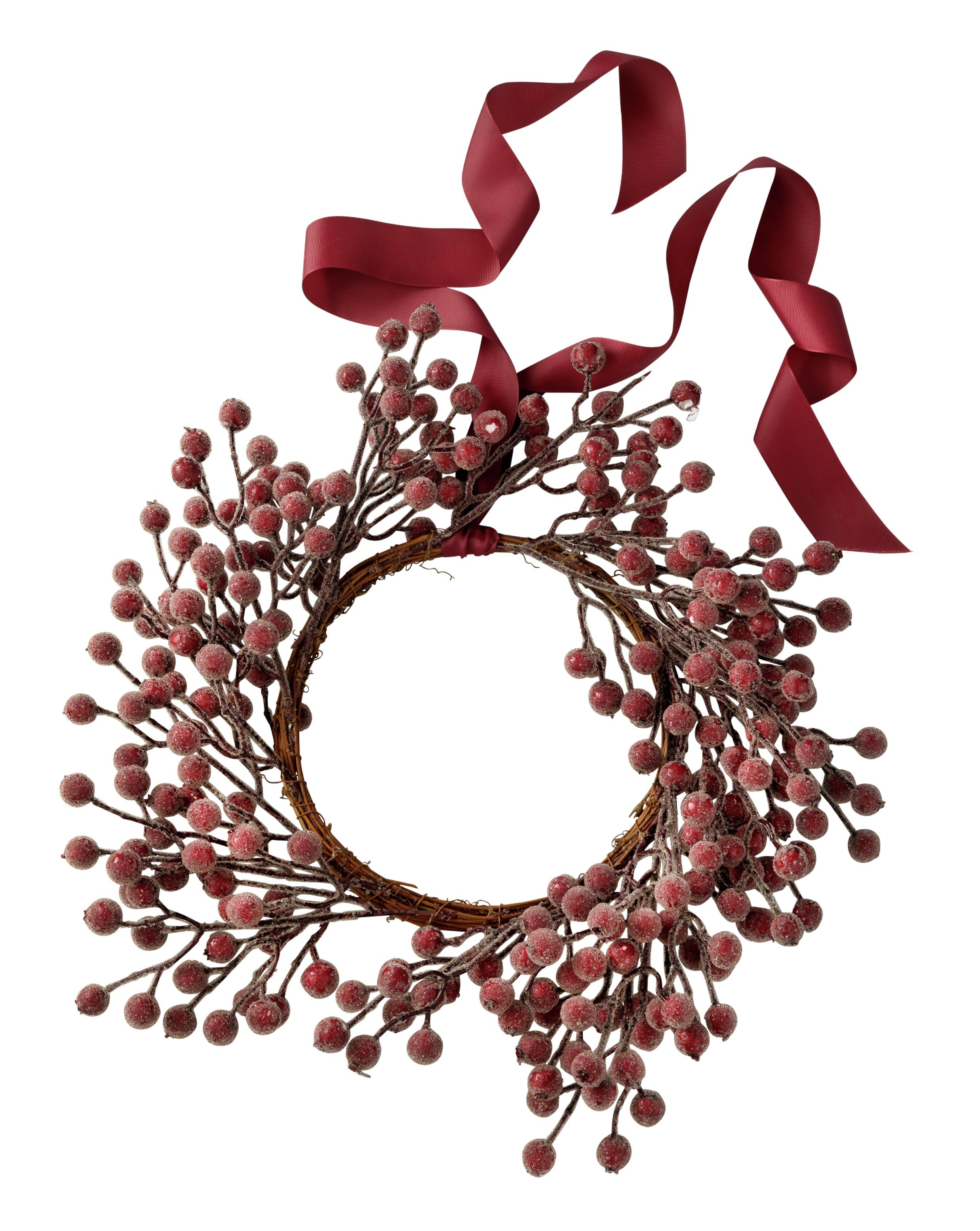 Image of Sainsbury's HOME - Frosted Berry Wreath