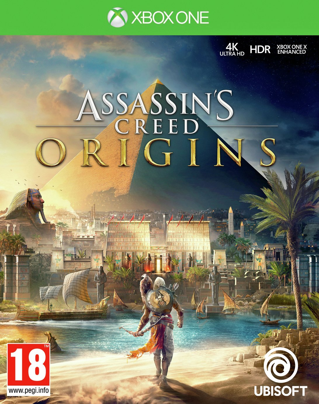 Image of Assassin's Creed Origins Xbox One Game.