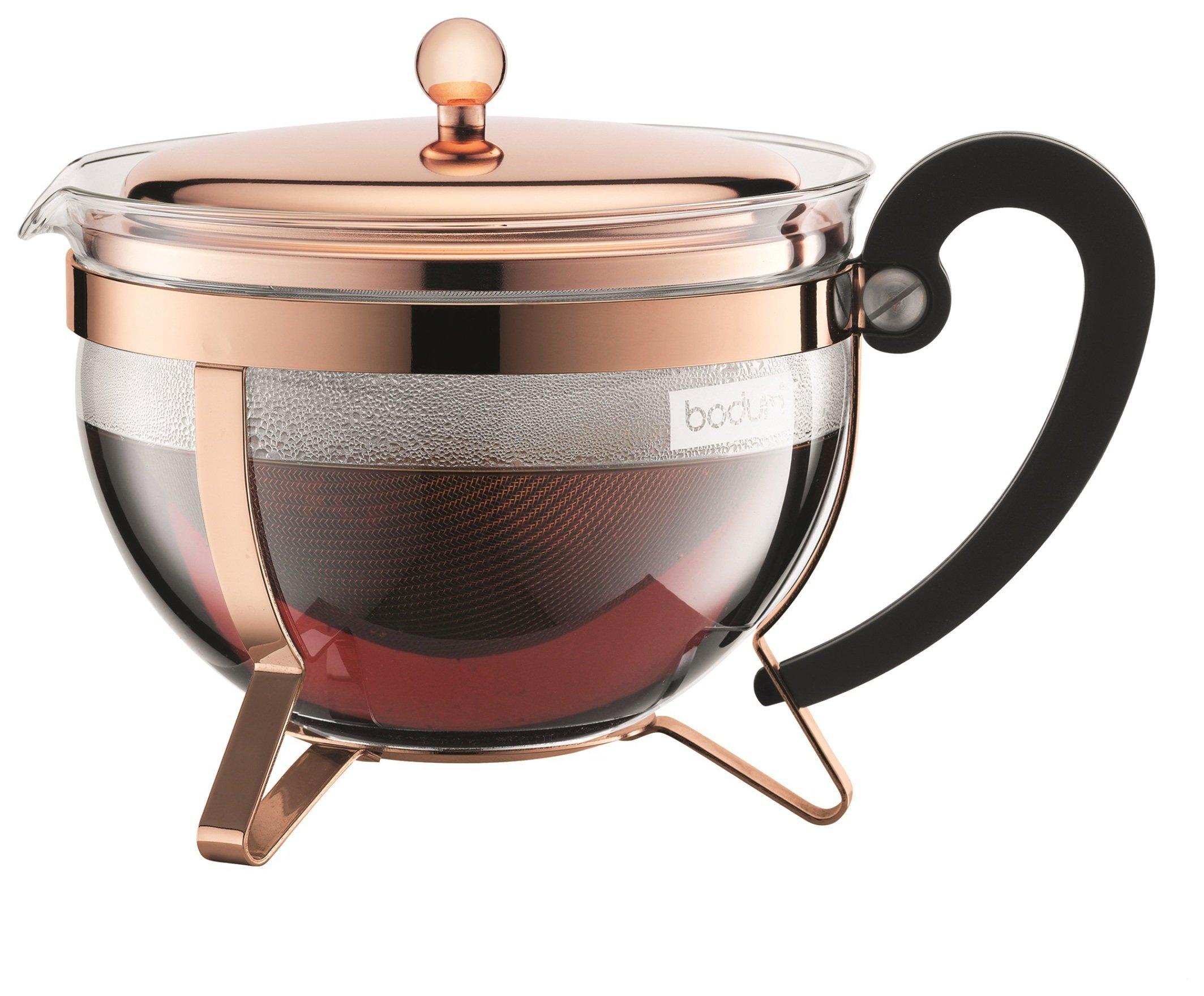 Bodum Chambord Teapot - Copper