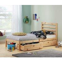 HOME Kaycie Single Bed Frame - Pine