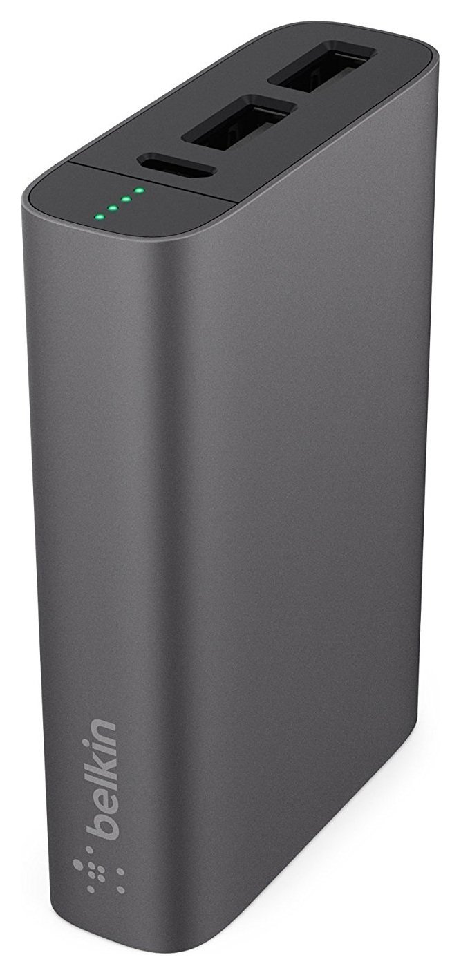 Image of Belkin 6600 Mixit Metallic Powerbank - Grey
