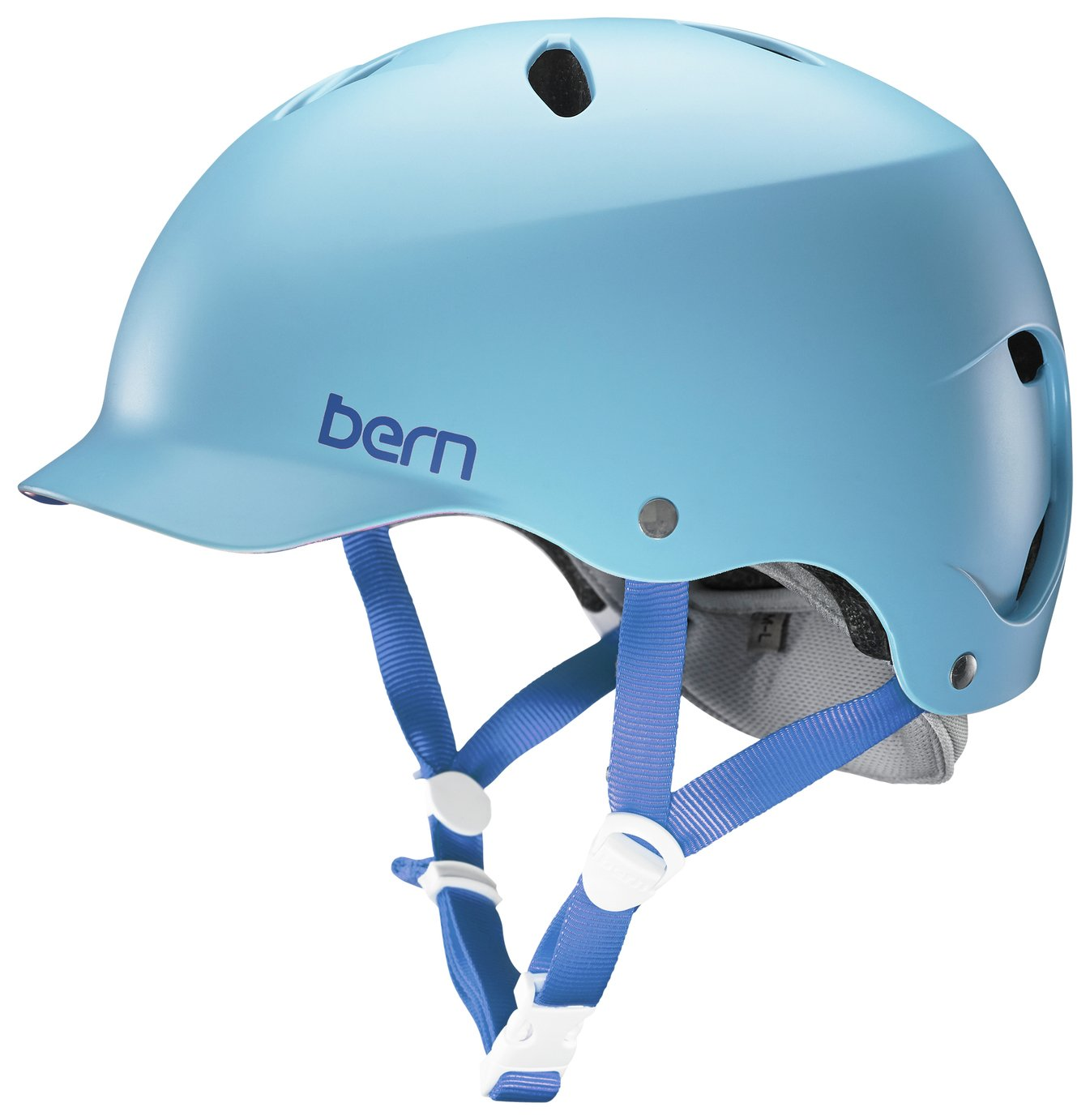 Image of Bern Lenox EPS Women's Summer Helmet - Satin Blue