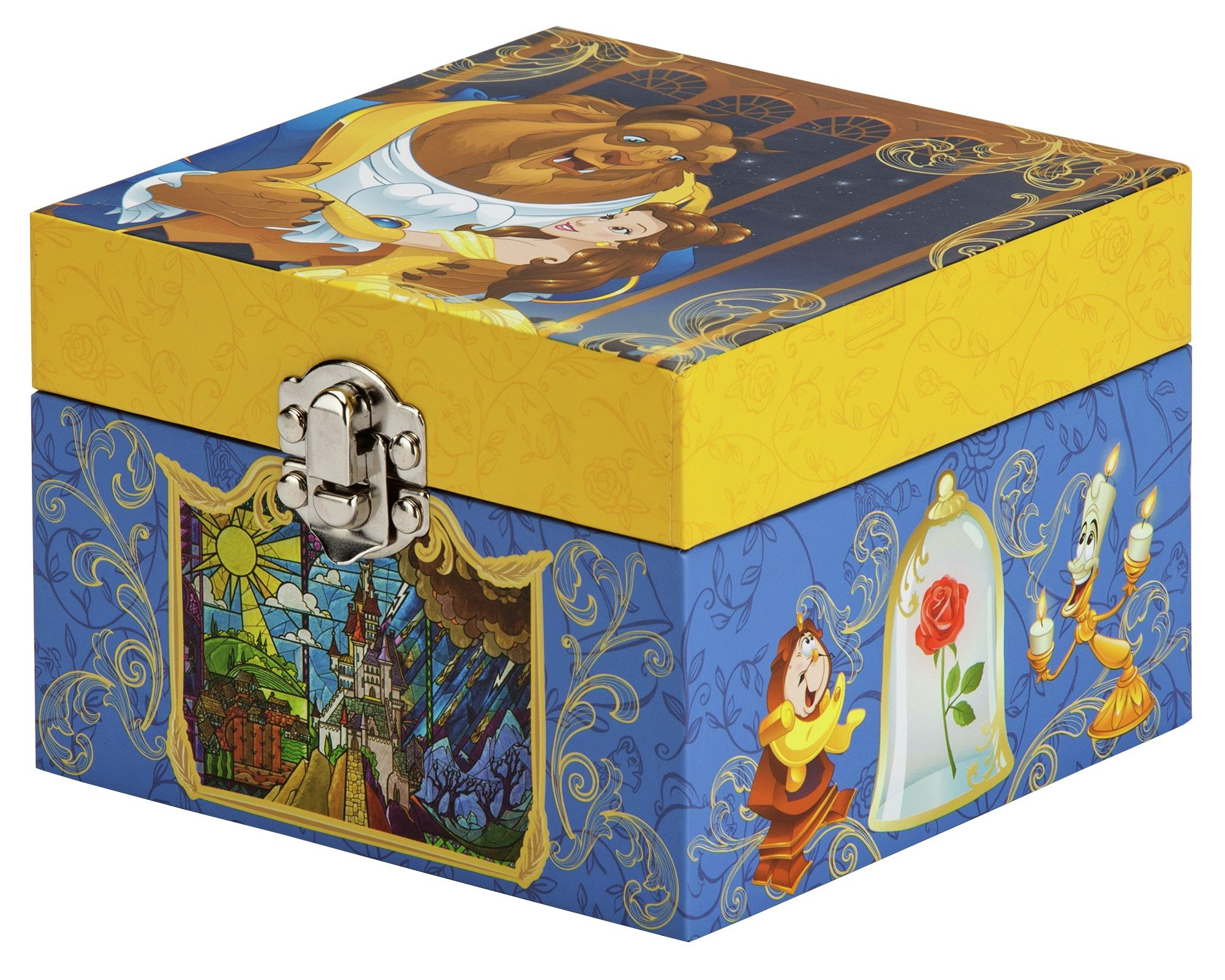 Buy Disney Beauty and the Beast Musical Jewellery Box Jewellery