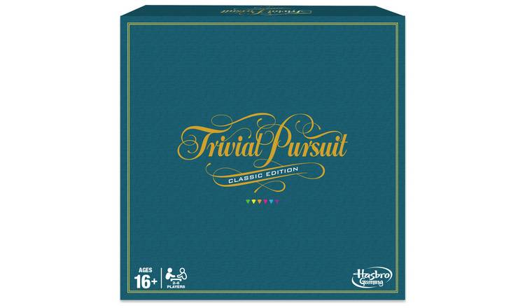 Trivial Pursuit Game: Classic Edition from Hasbro Gaming