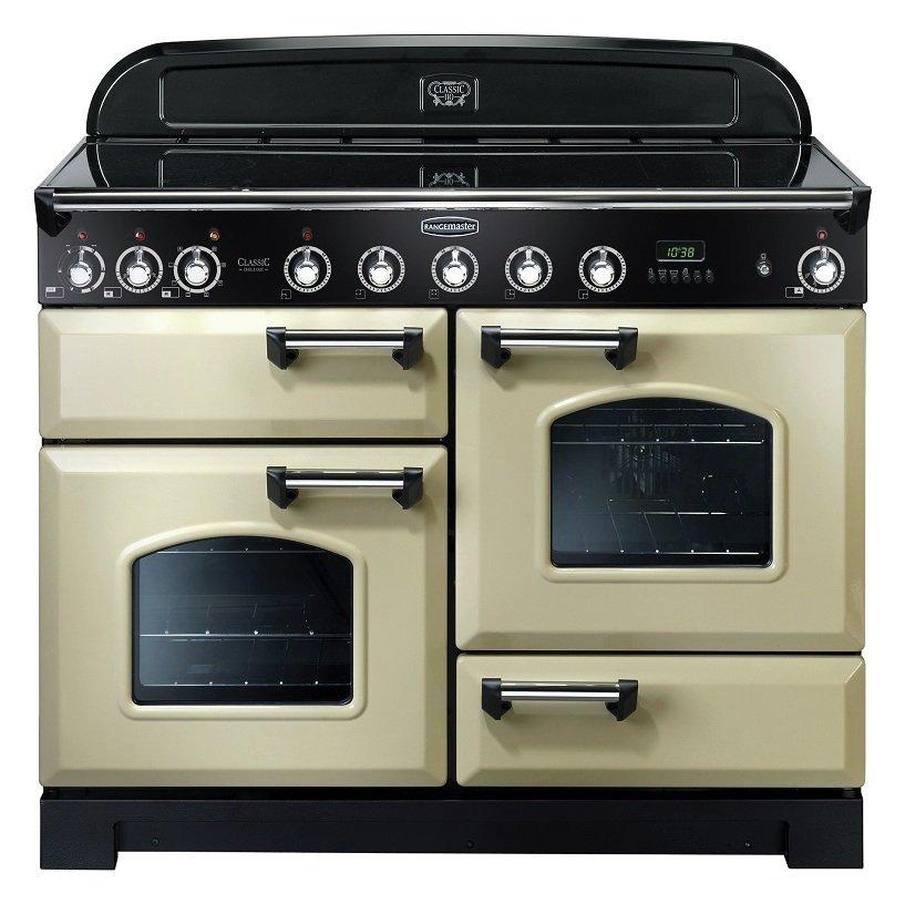 Rangemaster Classic Deluxe 110cm Induction Range Cooker Crm