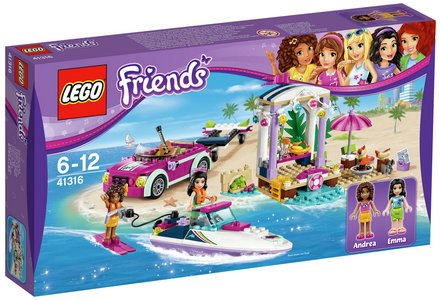 LEGO Friends Speedboat Transporter - 41316.