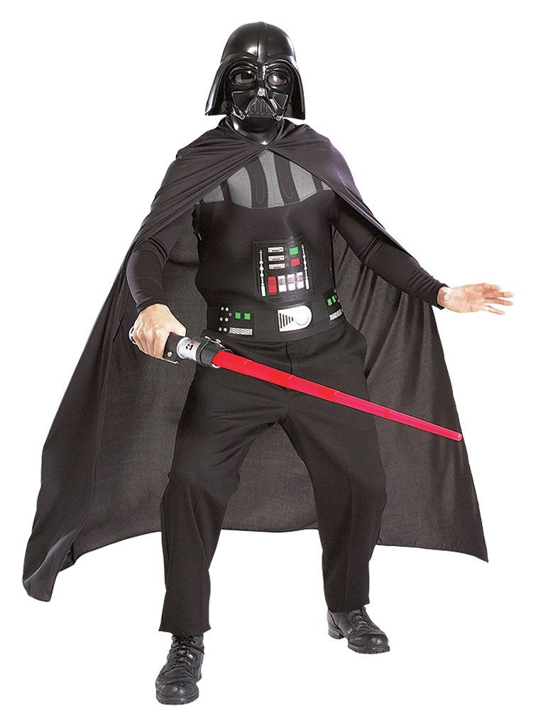 Star Wars Darth Vader Fancy Dress Costume - One Size