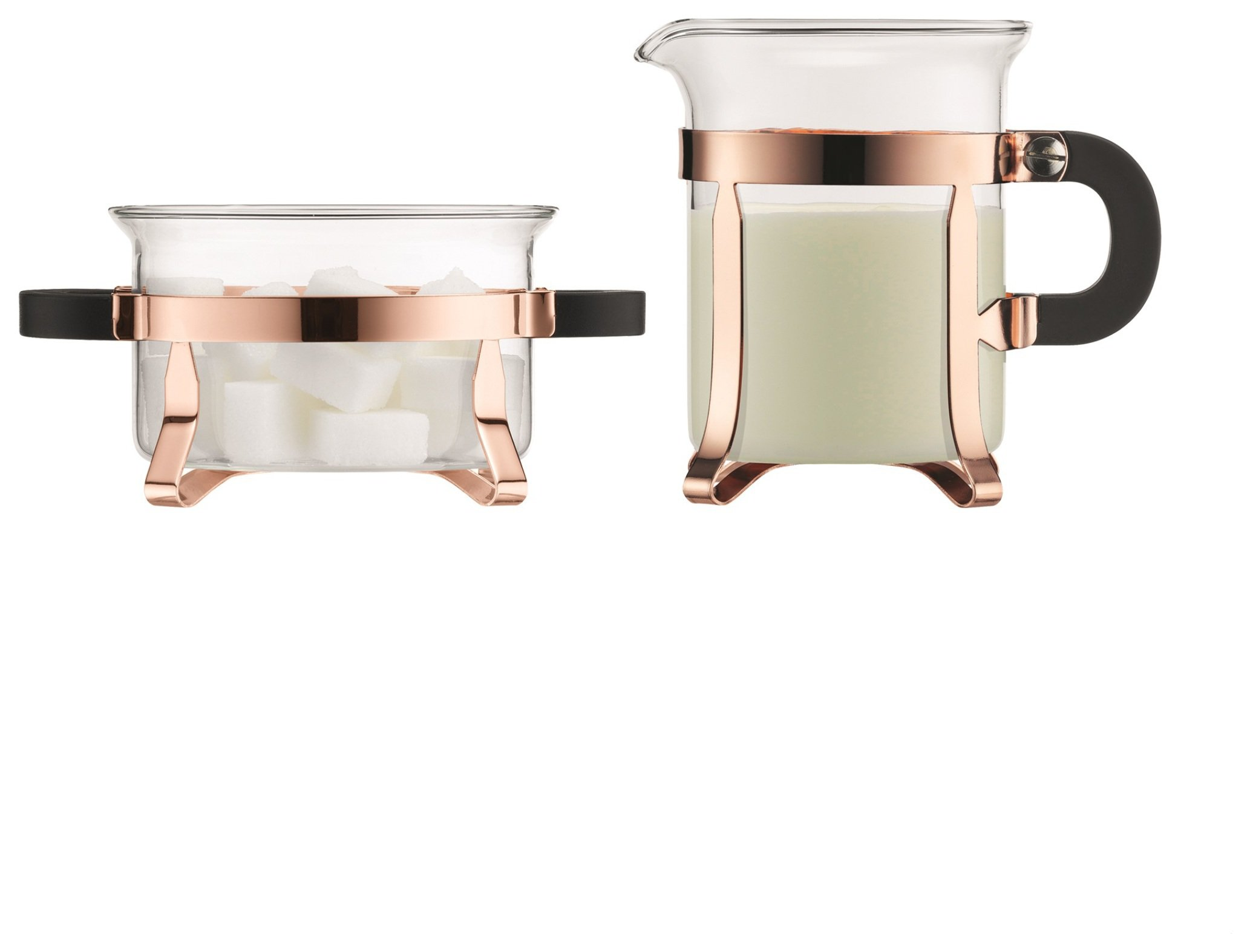 Bodum Chambord Sugar & Creamer Set - Copper